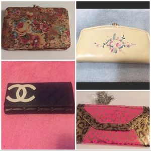 Handbags - Bundle 4!! Clutch's/wallet